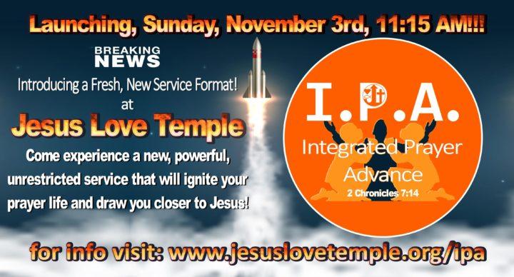 Integrated Prayer Advance